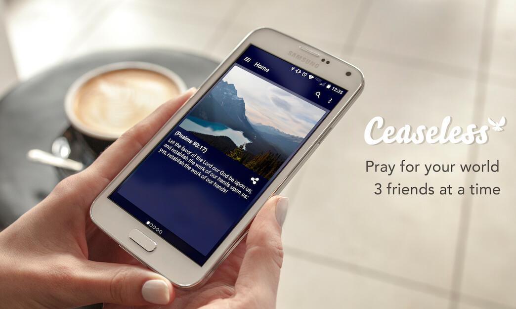 Ceaseless prayer lifestyle ad