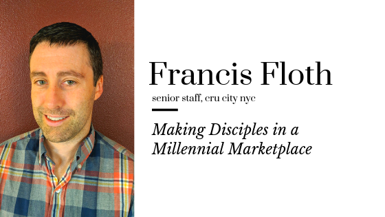 Making Disciples in a Millennial Marketplace