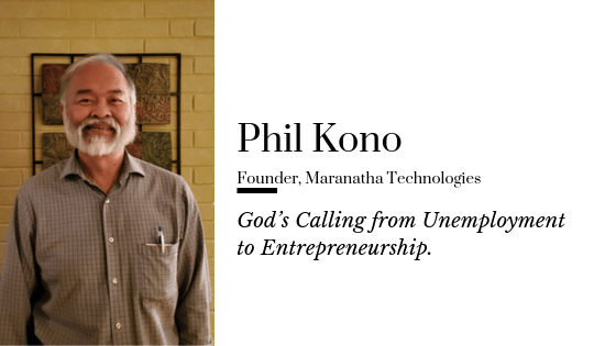 God's Calling from Unemployment to Entrepreneurship